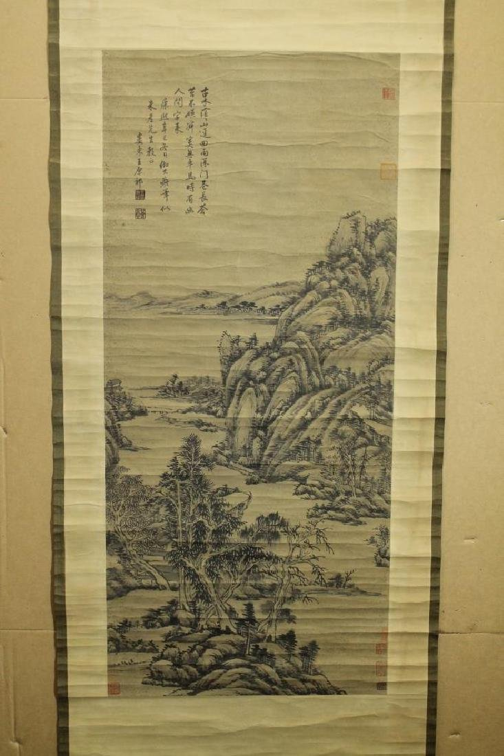 Chinese Scroll Painting - Landscape - 2