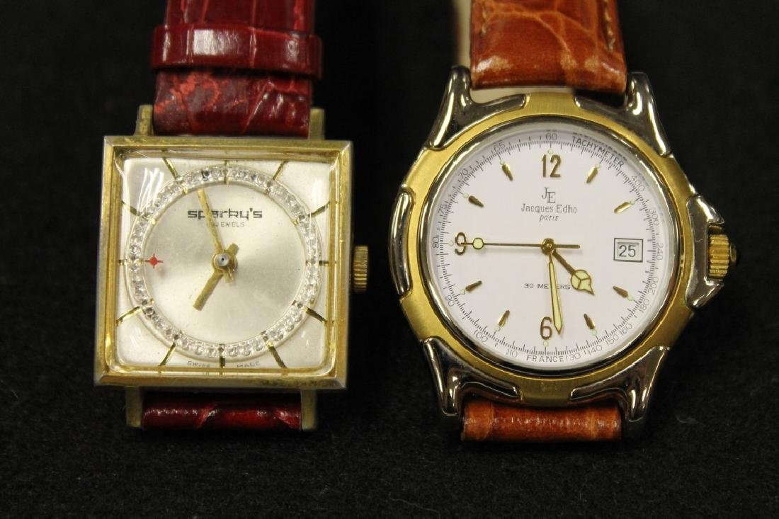 Jacques Edho & Sparky's Wrist Watches