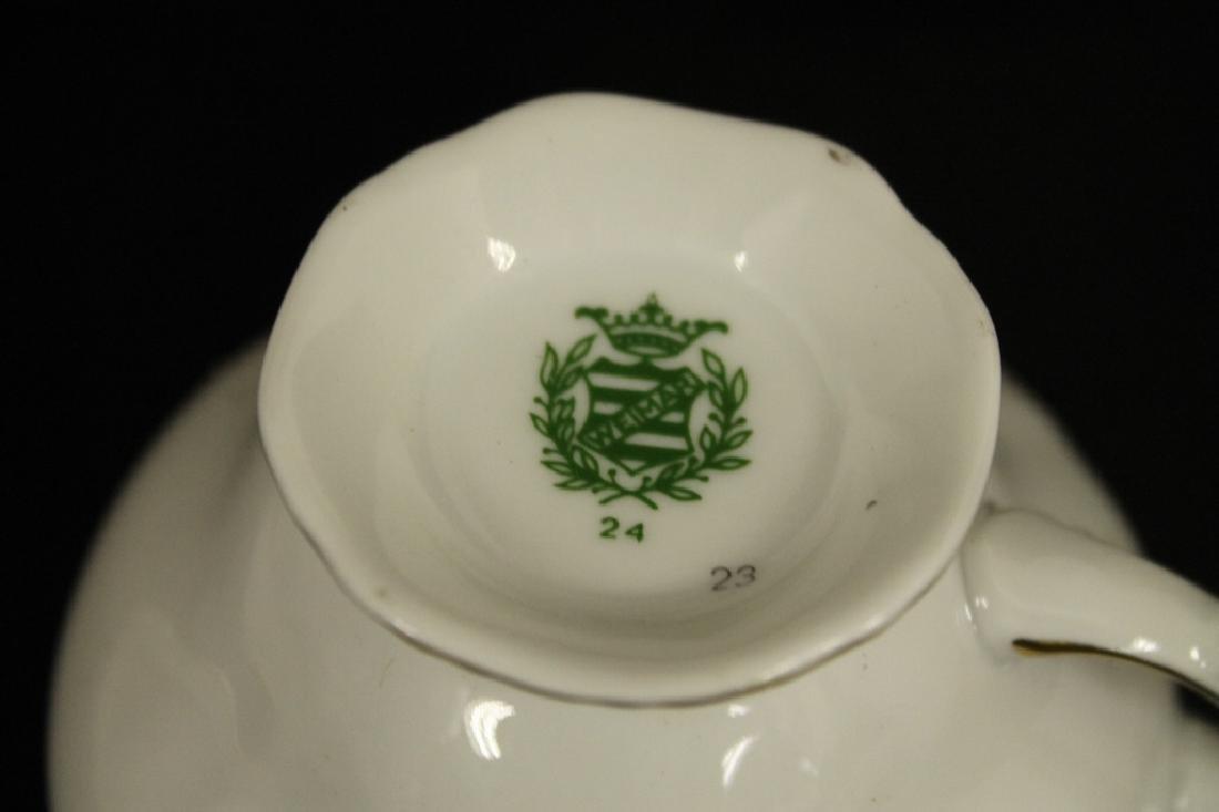 Weimar China Cup & Saucer Set - 5