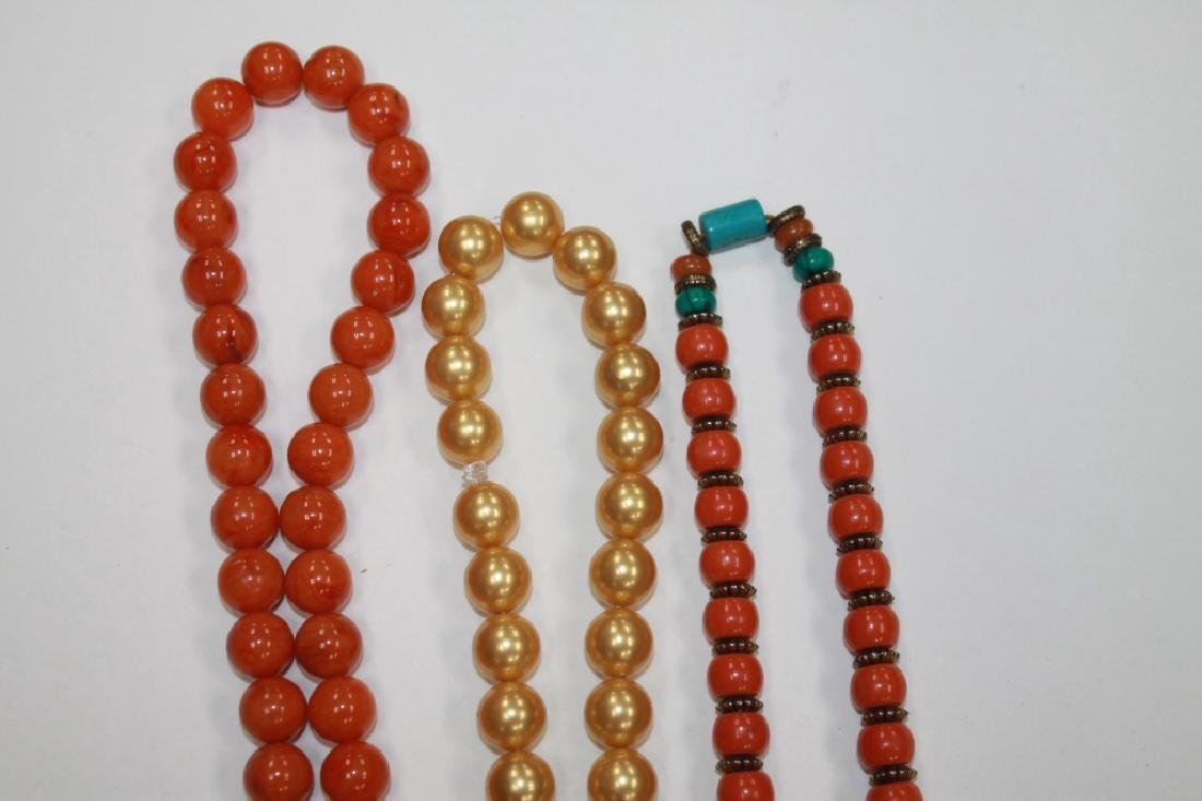 Lot of 3 Chinese Necklaces - 2