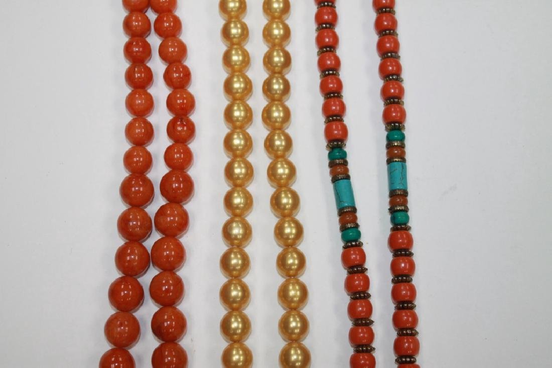 Lot of 3 Chinese Necklaces - 3