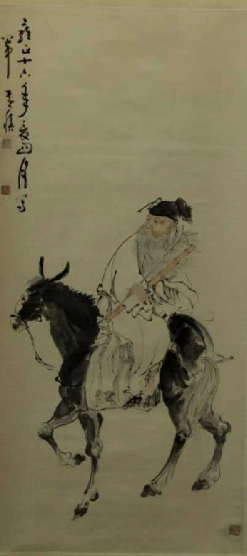 Chinese Painting - Rider