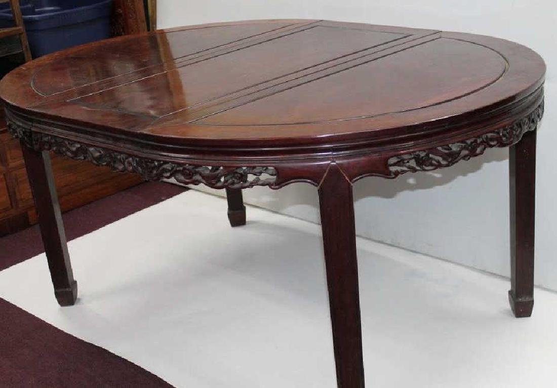Chinese Carved Wooden Table