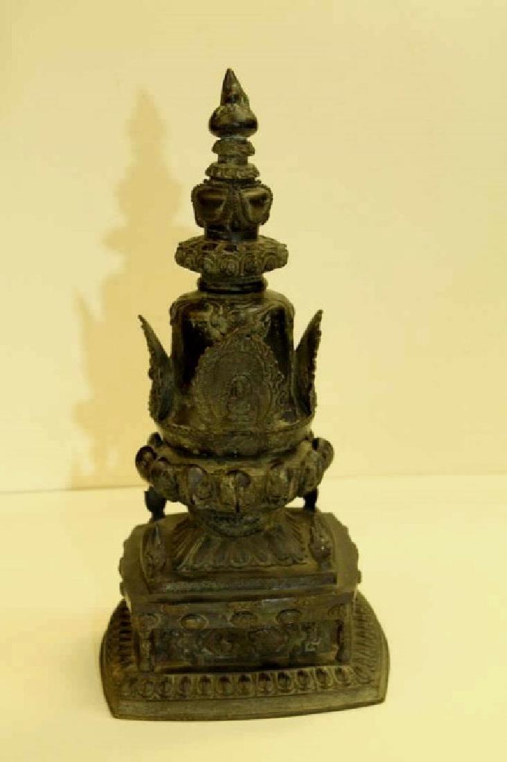 Antique Bronze Pagoda