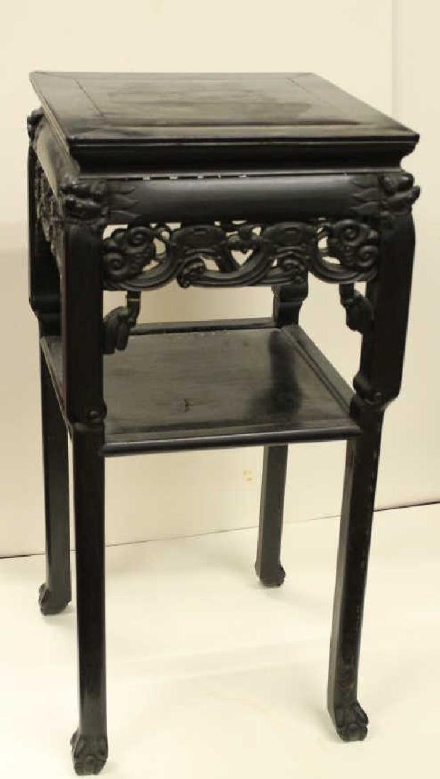Chinese Rose Wood Side Table