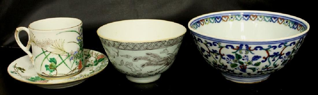 Assorted Lot of Chinese Porcelain