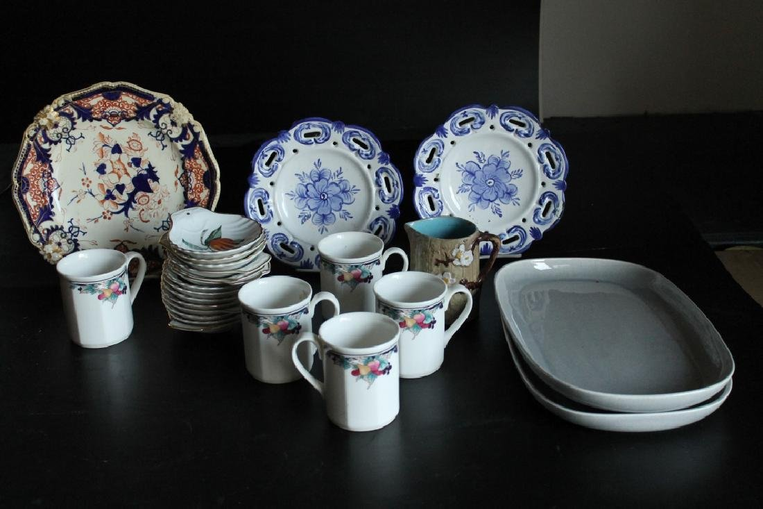 Lot of Assorted Porcelain Items
