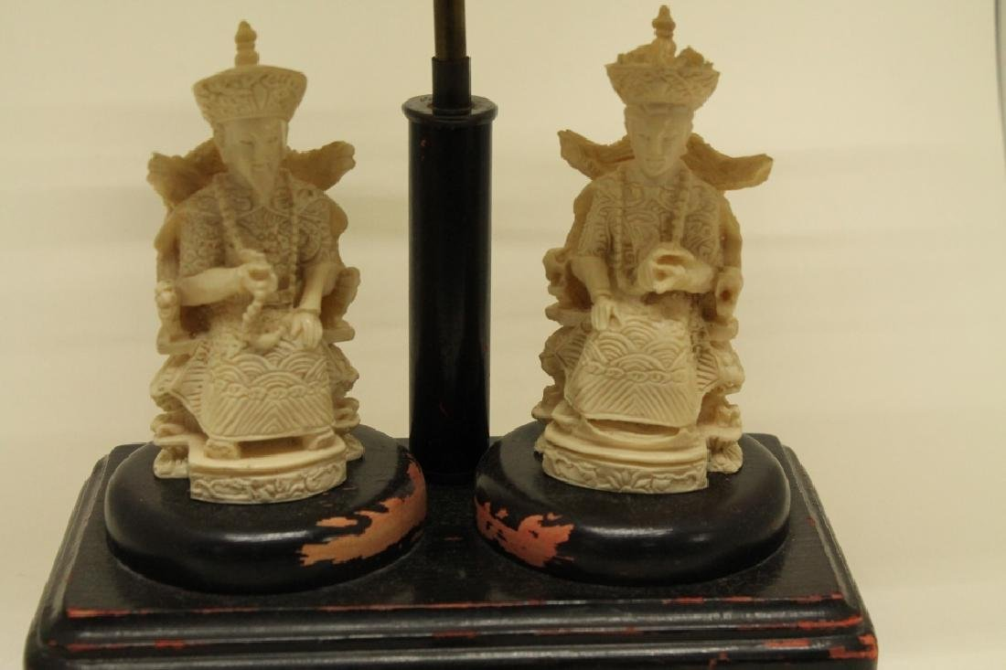Chinese Ancestry Lamp