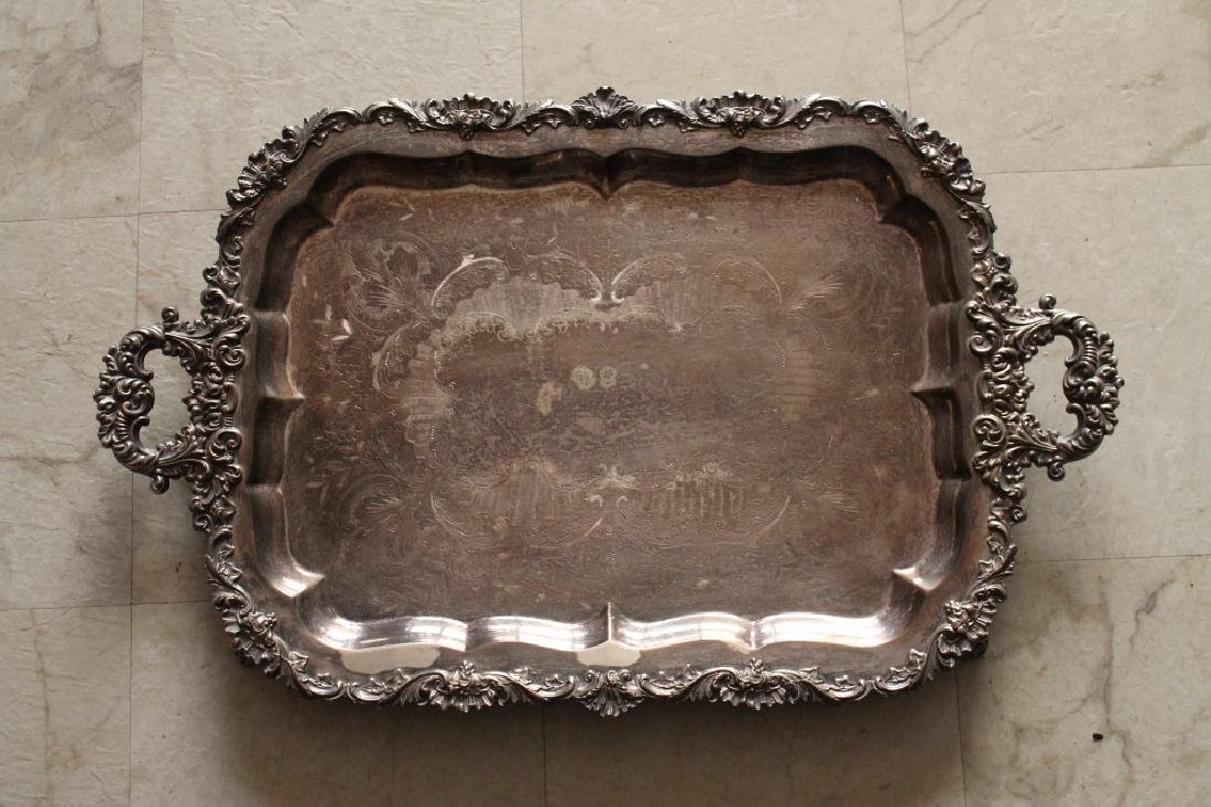 Large Silver Plater