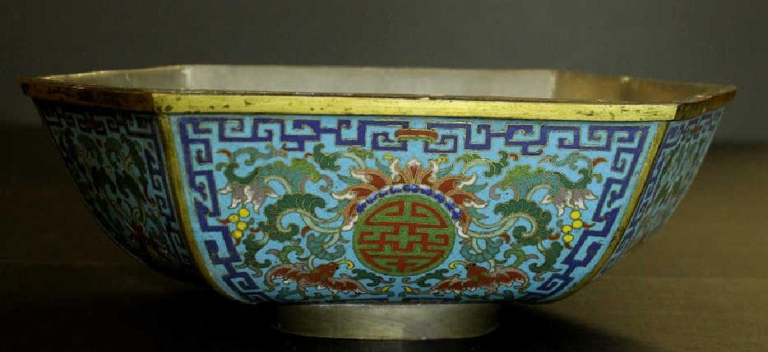 Qing Dynasty Cloisonne Planter