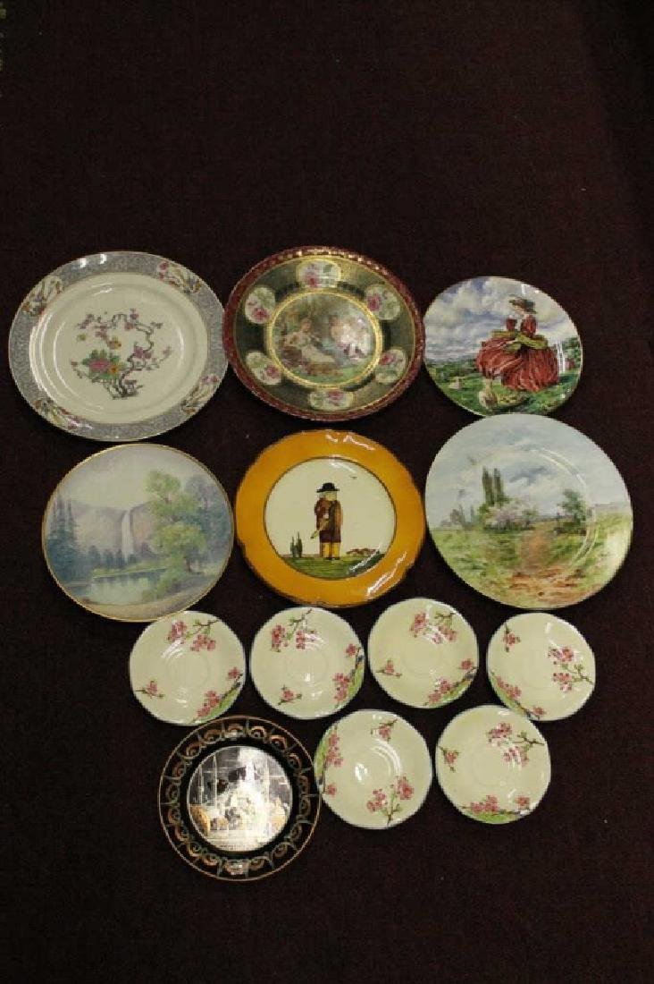 Assorted Lot of Porcelain Plates