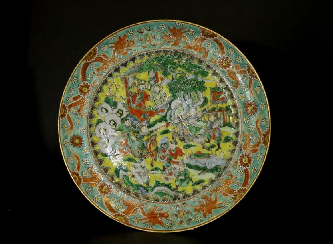 Chinese Export Fencai Plate