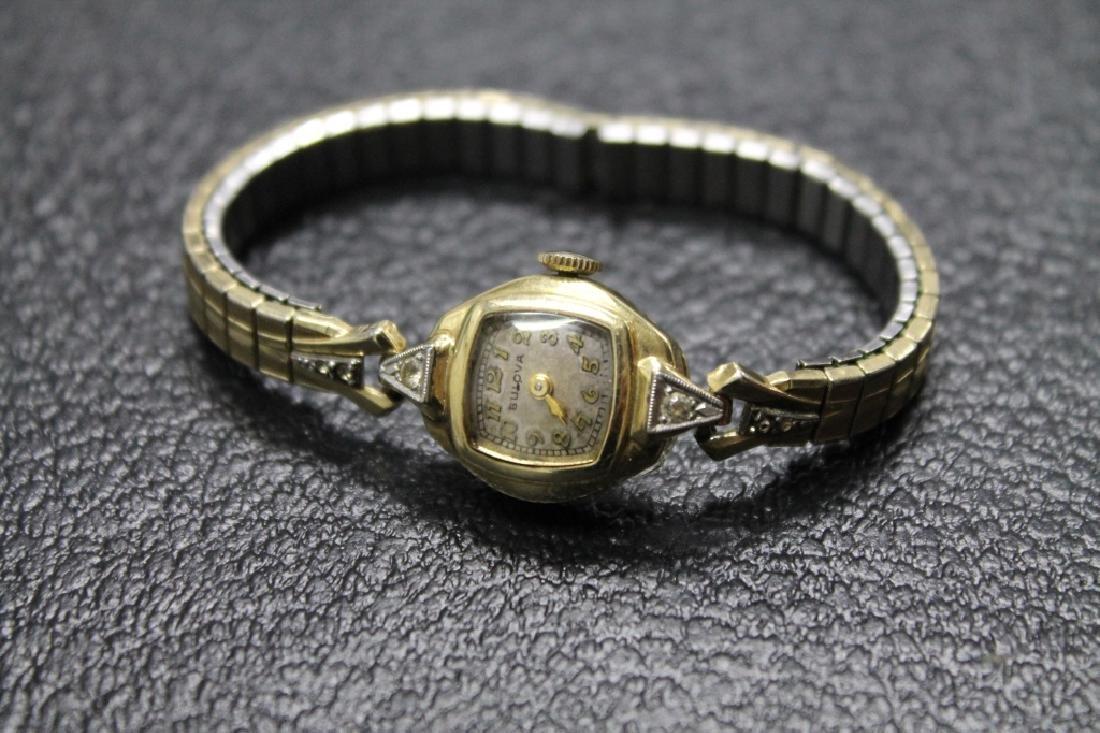 Vintage 14k Bulova Ladies Watch