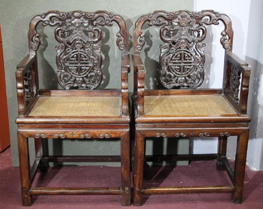 Pair of Hard Wood Chair