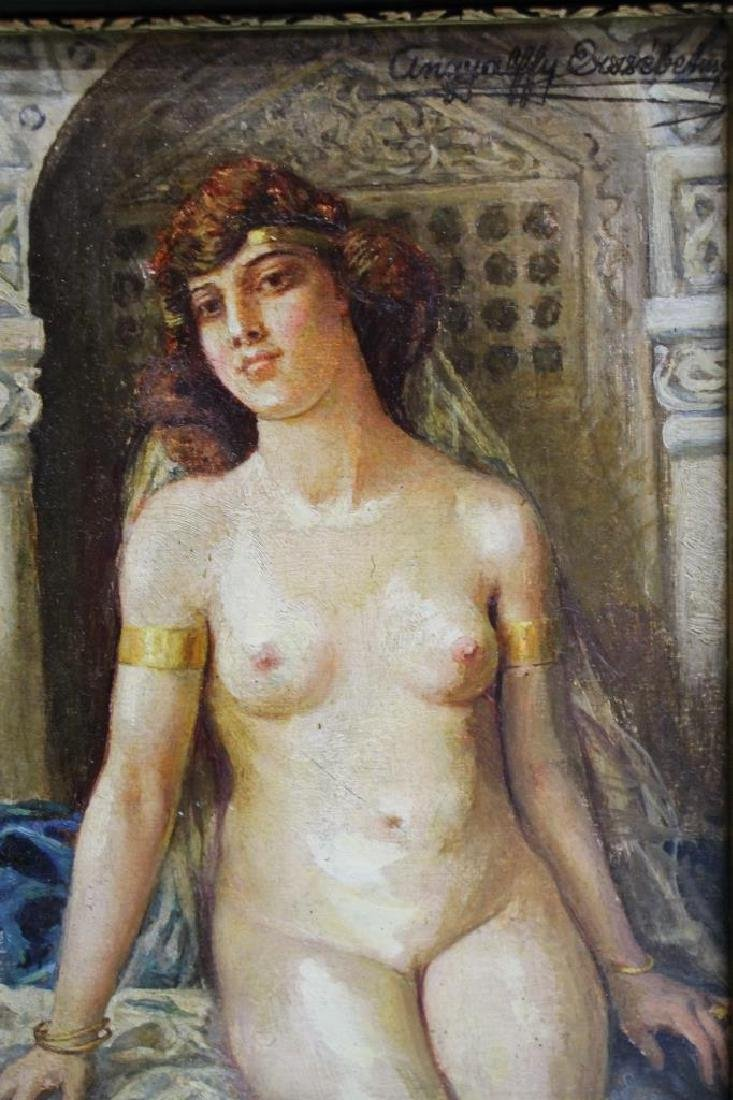 Framed Oil Painting - Elisabeth Angyalffy - 2