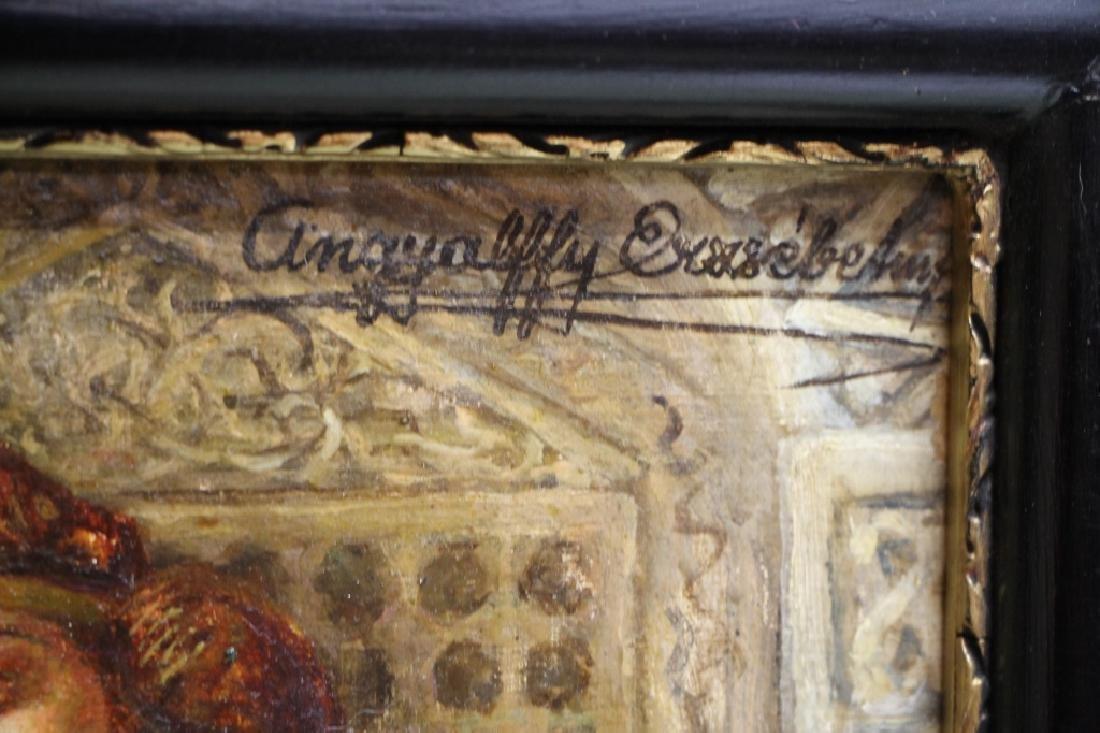Framed Oil Painting - Elisabeth Angyalffy - 3
