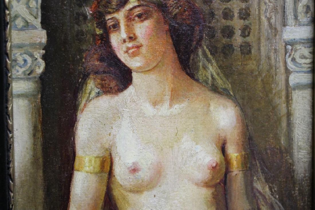 Framed Oil Painting - Elisabeth Angyalffy - 4