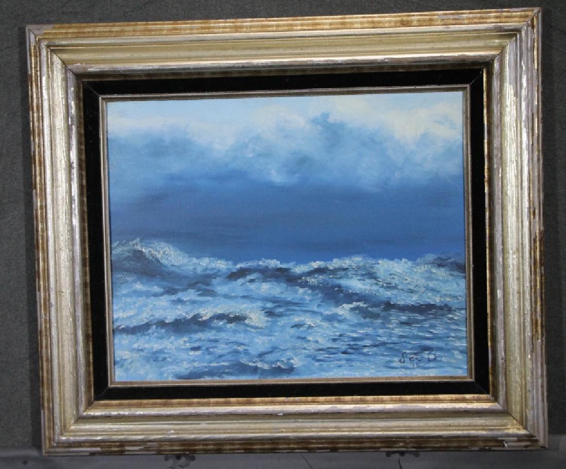 LEE BRUBAKER - Oil on Canvas