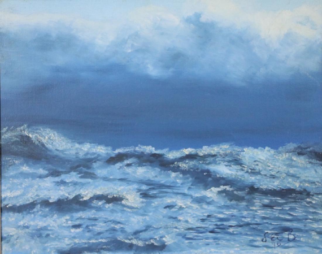LEE BRUBAKER - Oil on Canvas - 2