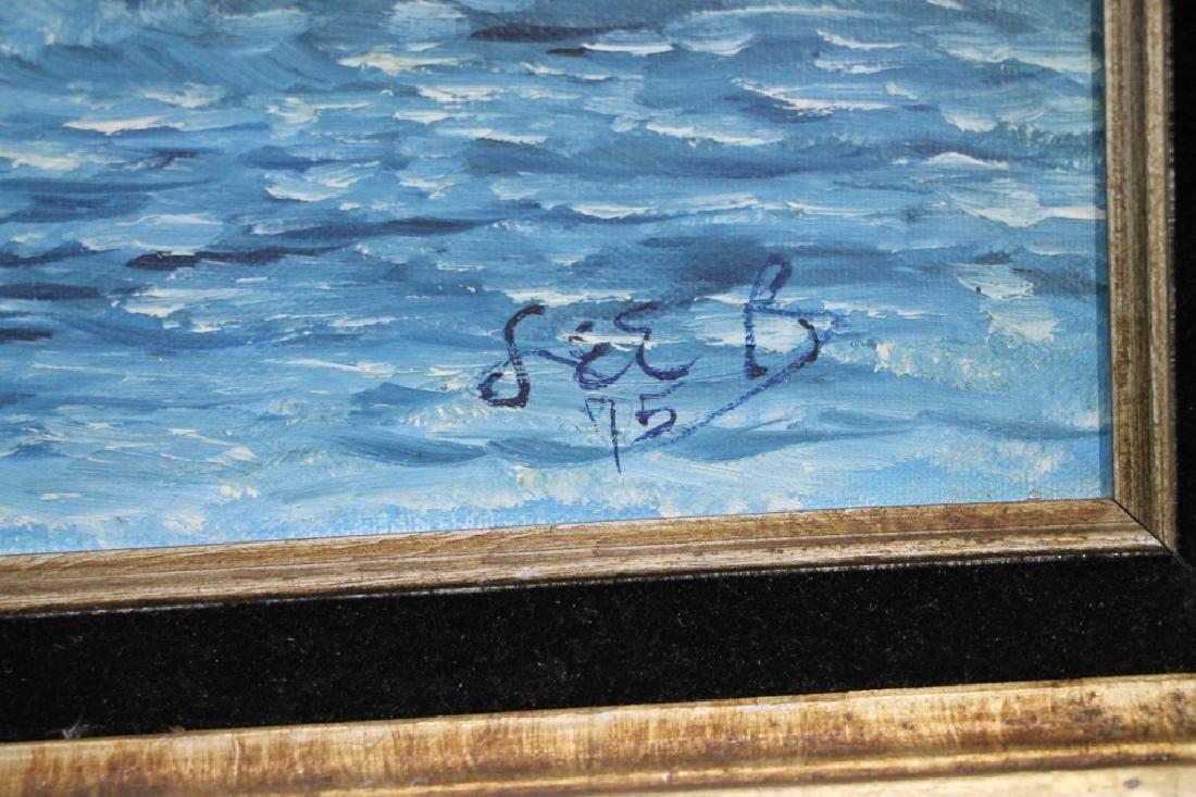 LEE BRUBAKER - Oil on Canvas - 3