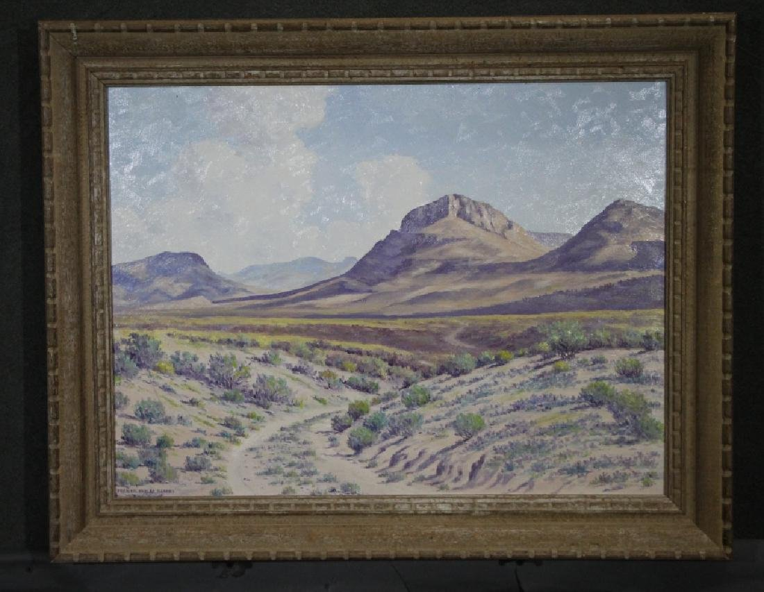 FREDERICK SHELBY BROOKS Oil on Board