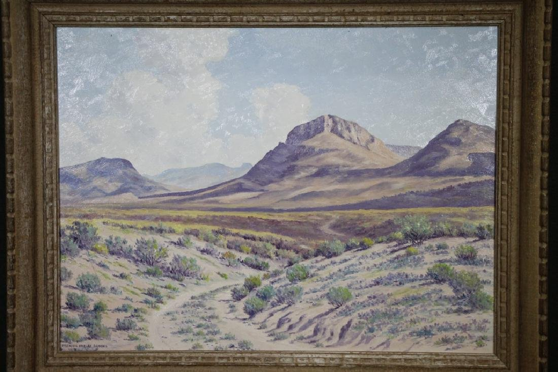 FREDERICK SHELBY BROOKS Oil on Board - 2