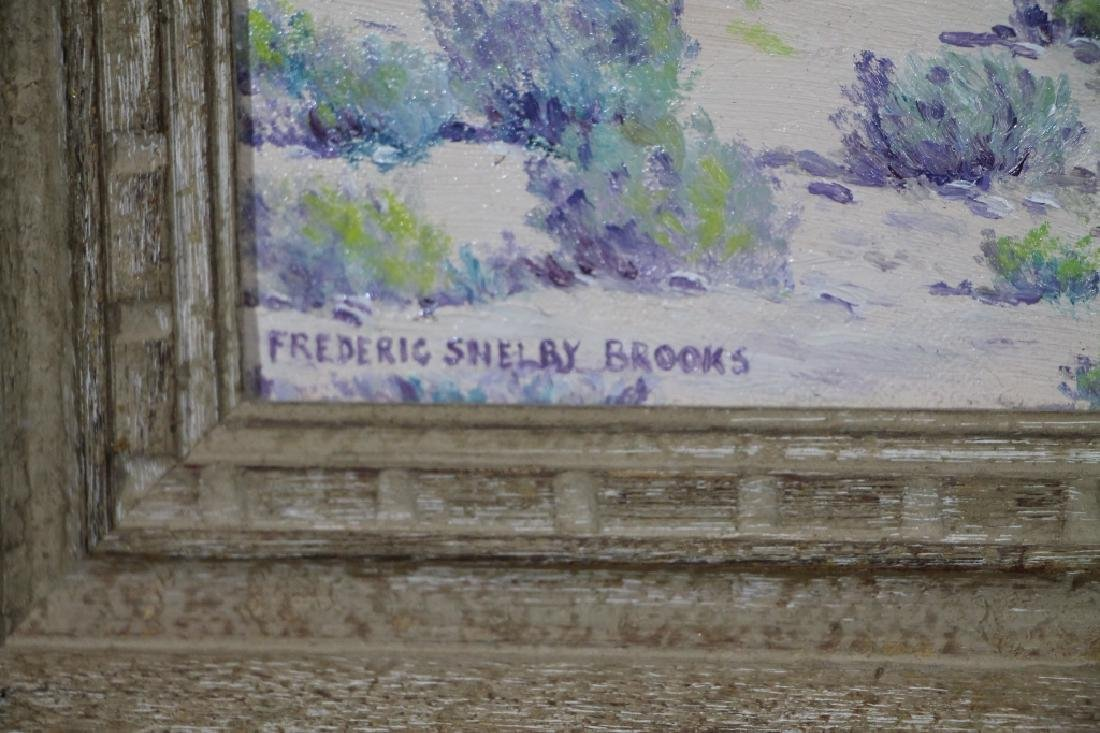 FREDERICK SHELBY BROOKS Oil on Board - 3