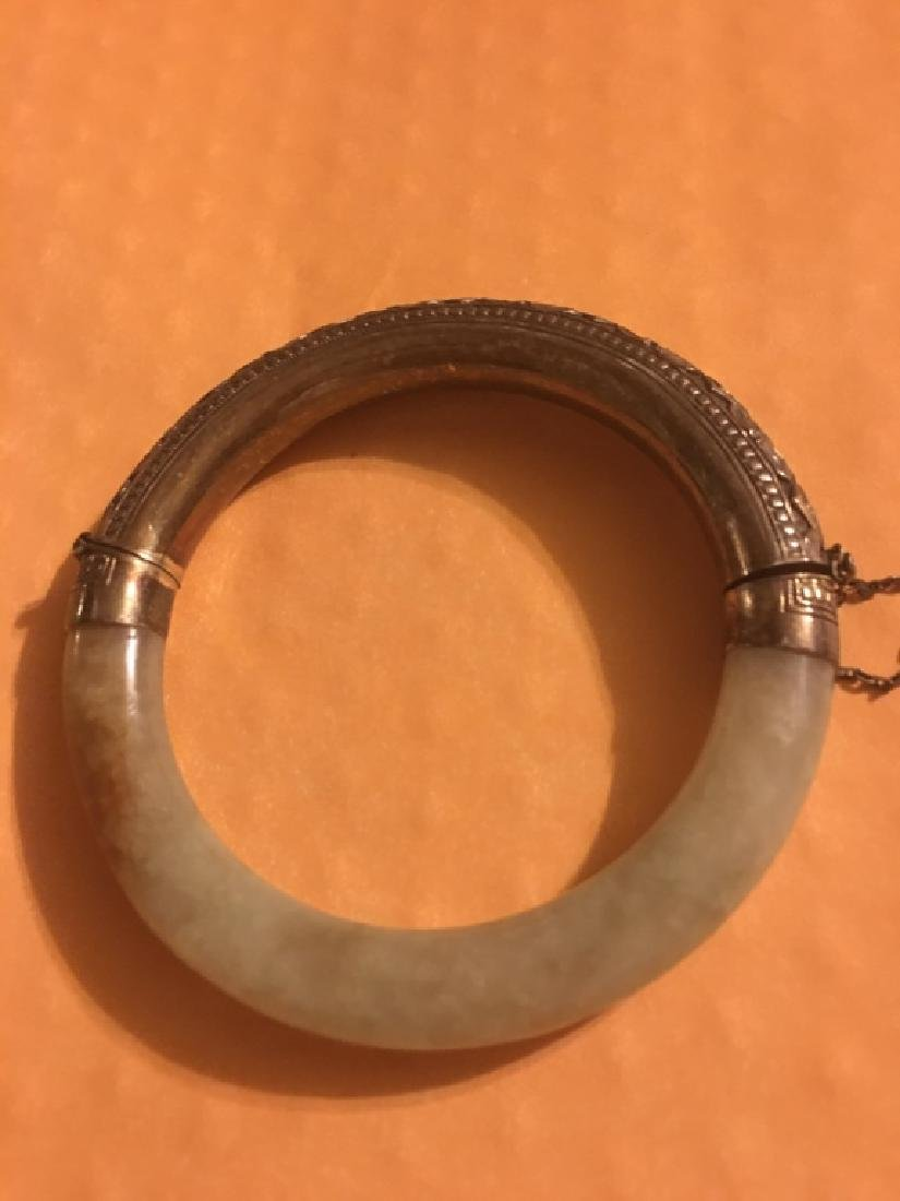 Chinese jade bangle - 3