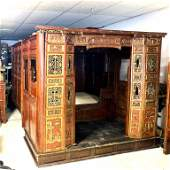Chinese Carved Wedding Bed