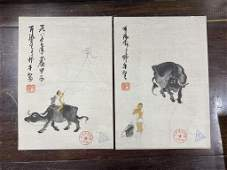 Chinese Watercolor Painting Album -Li Keran