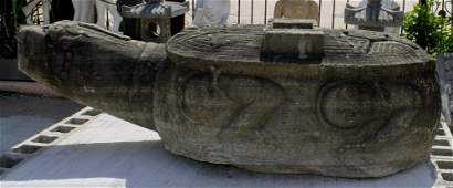 Ming Dynasty  Large Stone Carved Tortoise
