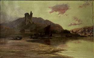 19th C. British, Oil on Canvas