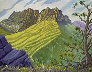 H. Bensnia, 20th C. South American, Oil on Canvas