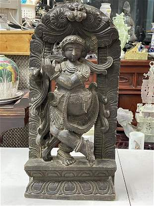 A Bronze Indian Statue