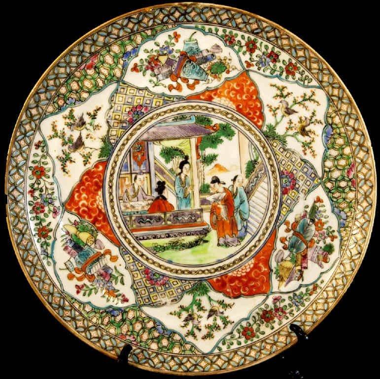 2: Famille Rose Plate