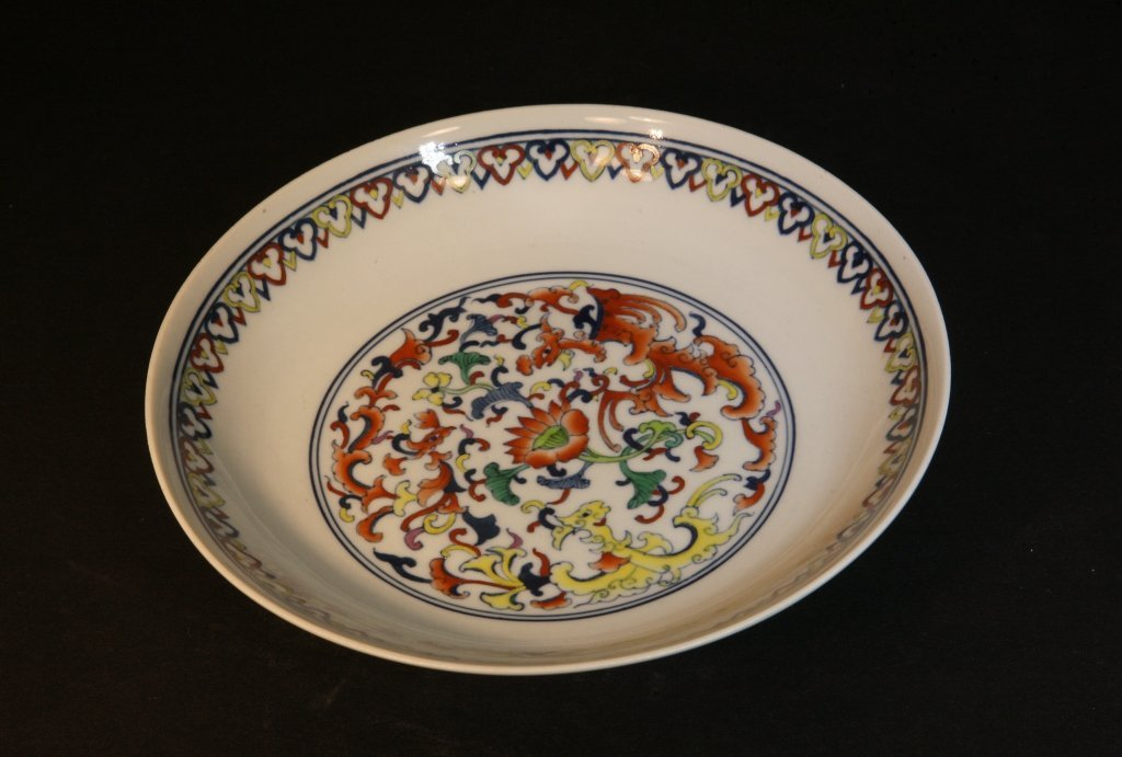 7: Finely Painted Doucai Plate