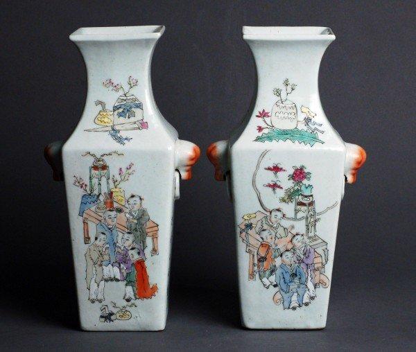 3: Pair of Chinese Republic Period Vases