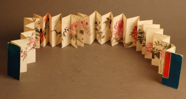 167: Chinese  Powder Painting --Flowers
