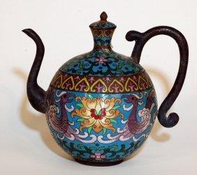 5: Chinese Cloisonne Wine Jar