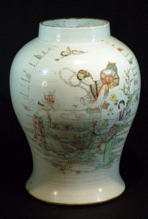 Chinese Famille Rose Ginger Jar