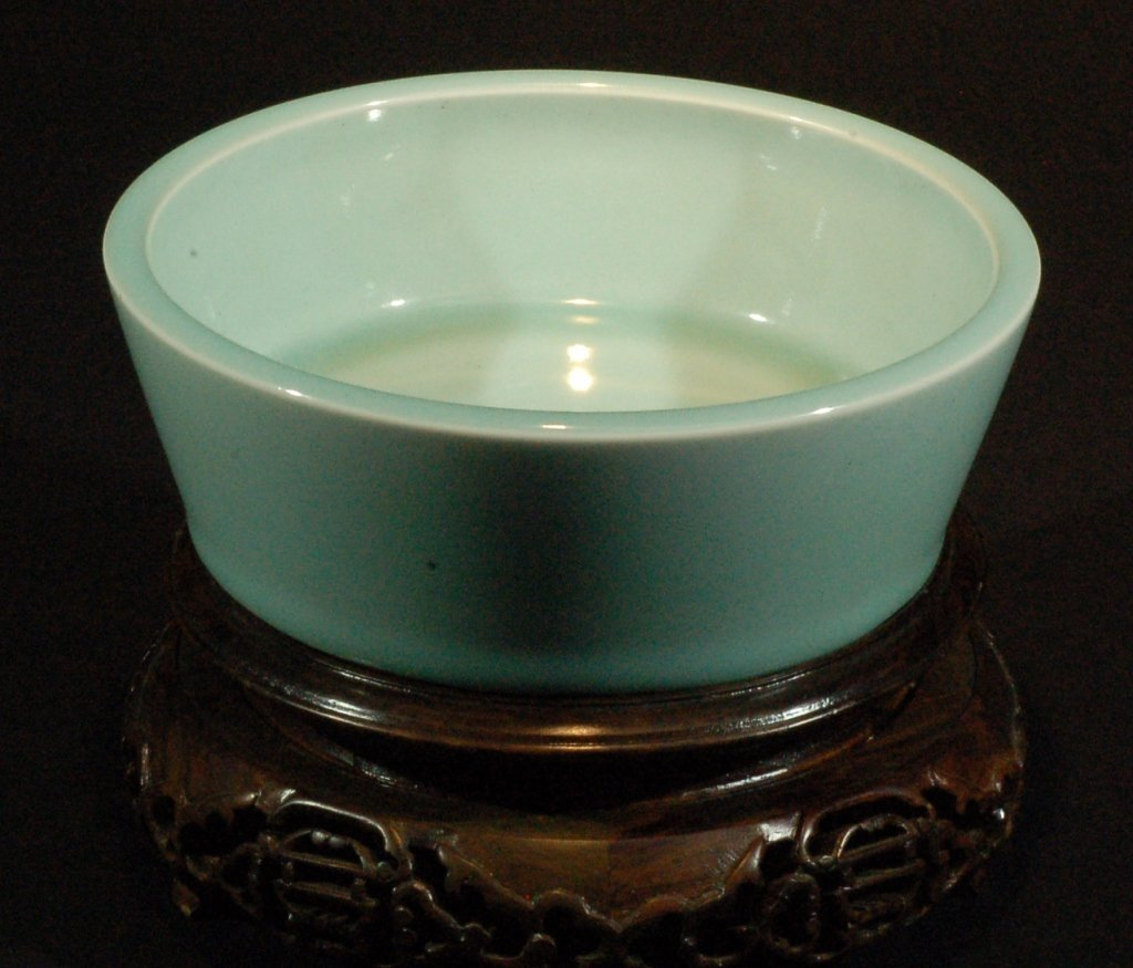 White Celadon Glazed Brushwasher