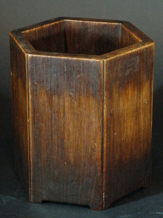 Chinese Old Rosewood Brushpot