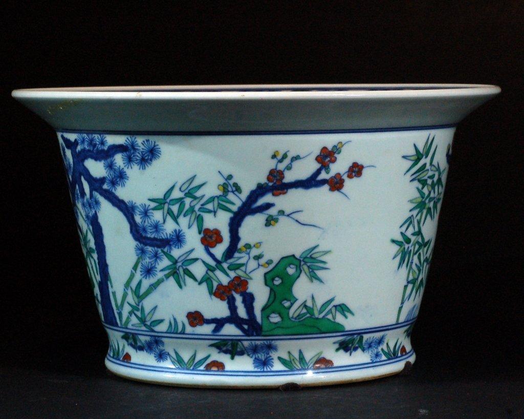 Chinese Wucai Planter