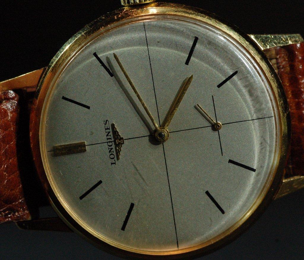 Vintage Longines 18K Gold Men's Watch