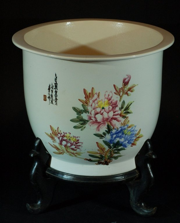 Chinese Famille Rose Planter 1950S