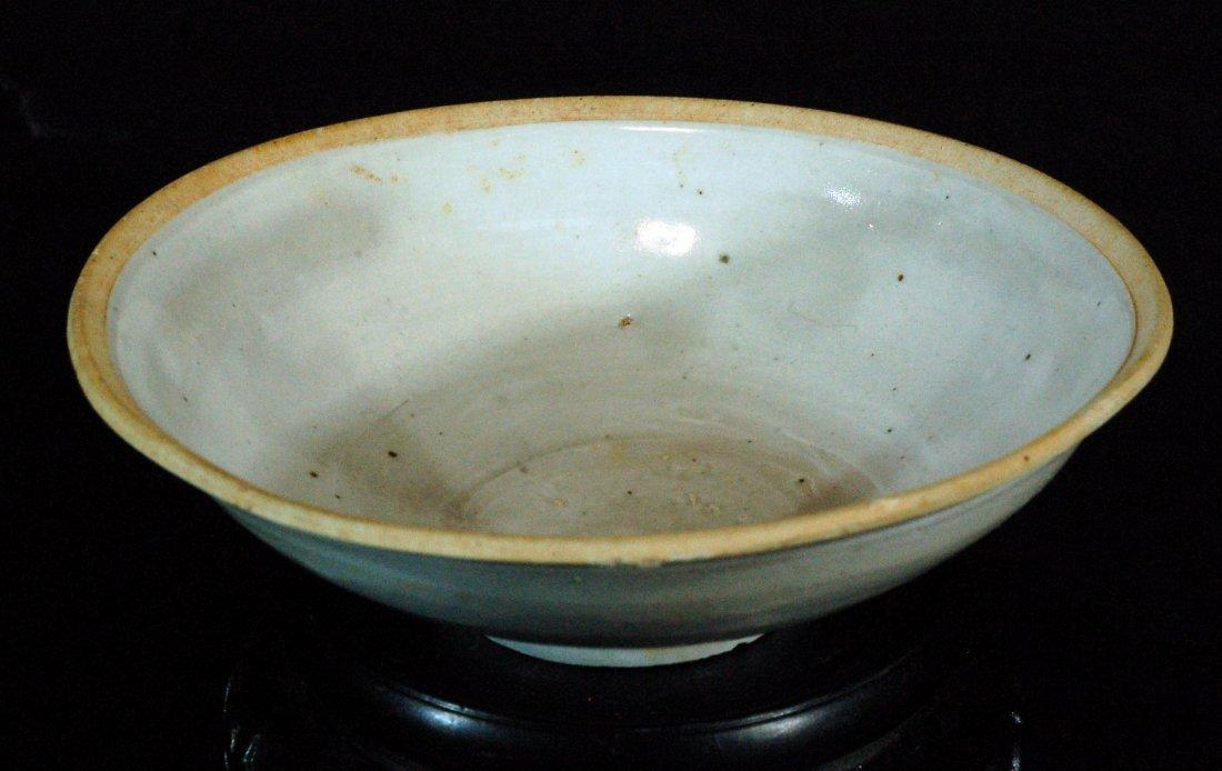 Celadon White Glazed Bowl