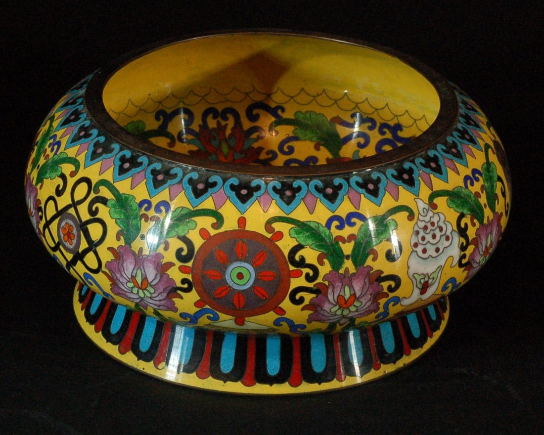 Chinese Old Cloisonne Washer