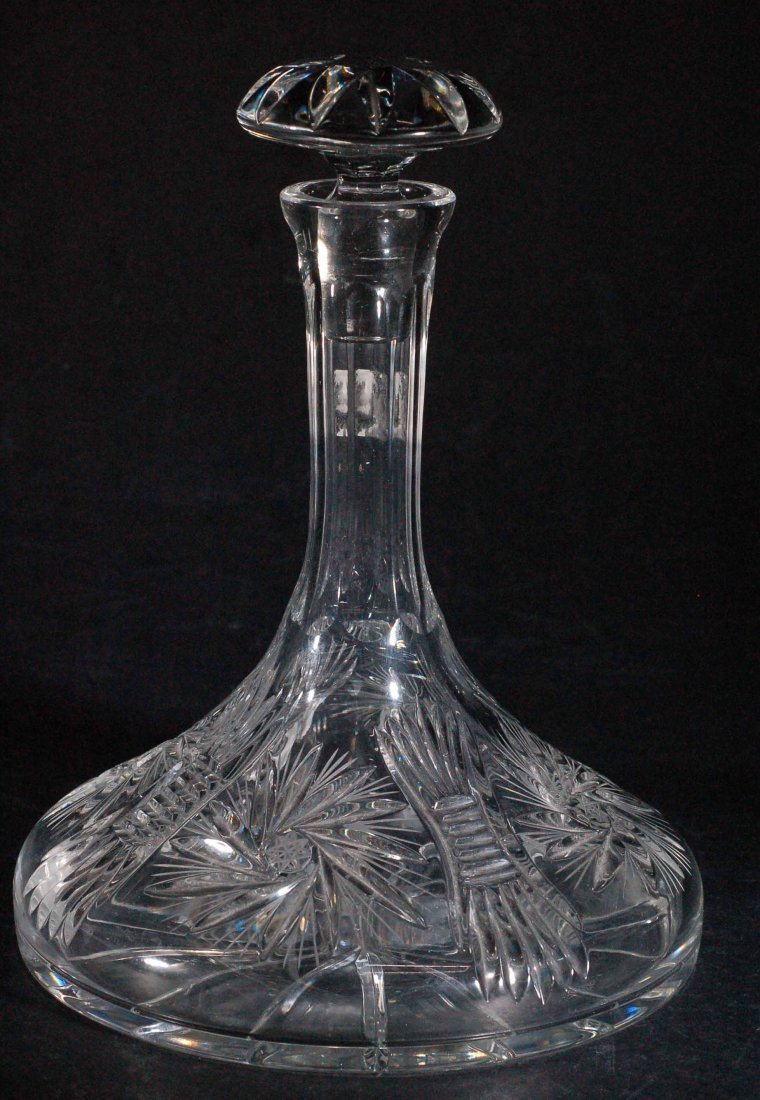 Large Steamboat Captains Decanter