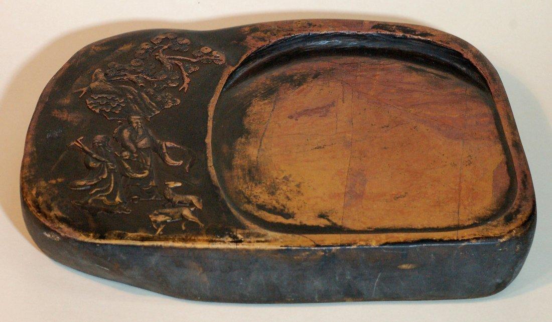 Large Antique Chinese Inkstone