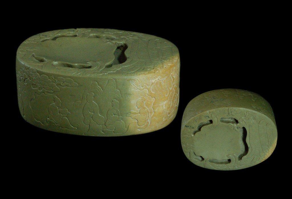 Large Chinese Ink Stone